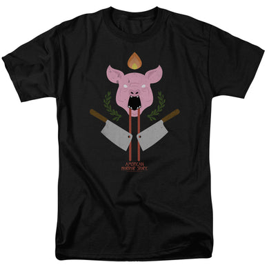 American Horror Story - Pig Cleavers Short Sleeve Adult 18/1