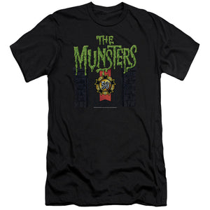 The Munsters - 50 Year Logo Short Sleeve Adult 30/1
