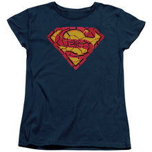 Superman - Shattered Shield Short Sleeve Women's Tee