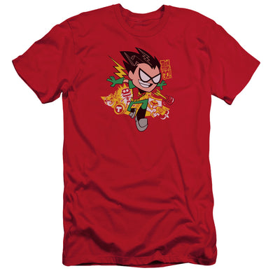 Teen Titans Go - Robin Short Sleeve Adult 30/1