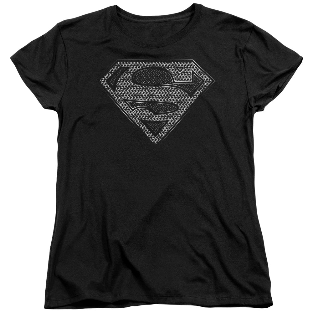 Superman - Chainmail Short Sleeve Women's Tee