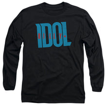 Billy Idol - Logo Long Sleeve Adult 18/1