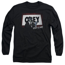 They Live - Obey Long Sleeve Adult 18/1