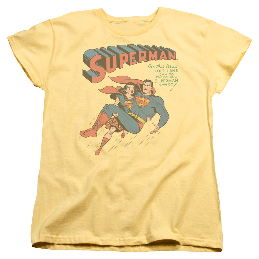 Superman - #57 Cover Short Sleeve Women's Tee
