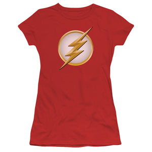 Flash - New Logo Short Sleeve Junior Sheer