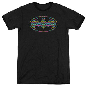 Batman - Aztec Signal Adult Heather