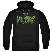 The Munsters - Distress Logo Adult Pull Over Hoodie