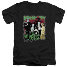 The Munsters - Normal Family Short Sleeve Adult V Neck
