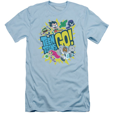 Teen Titans Go - Go Short Sleeve Adult 30/1
