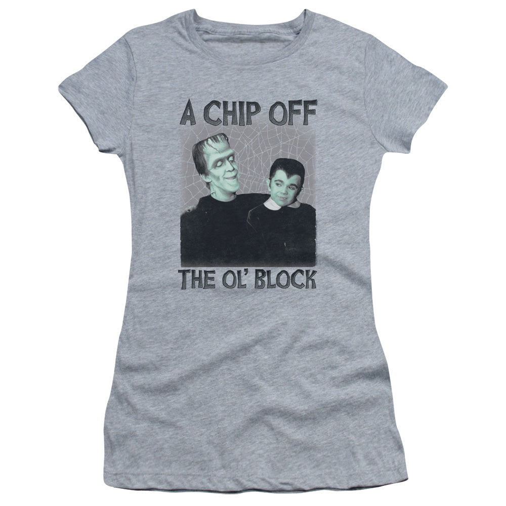 The Munsters - Chip Short Sleeve Junior Sheer