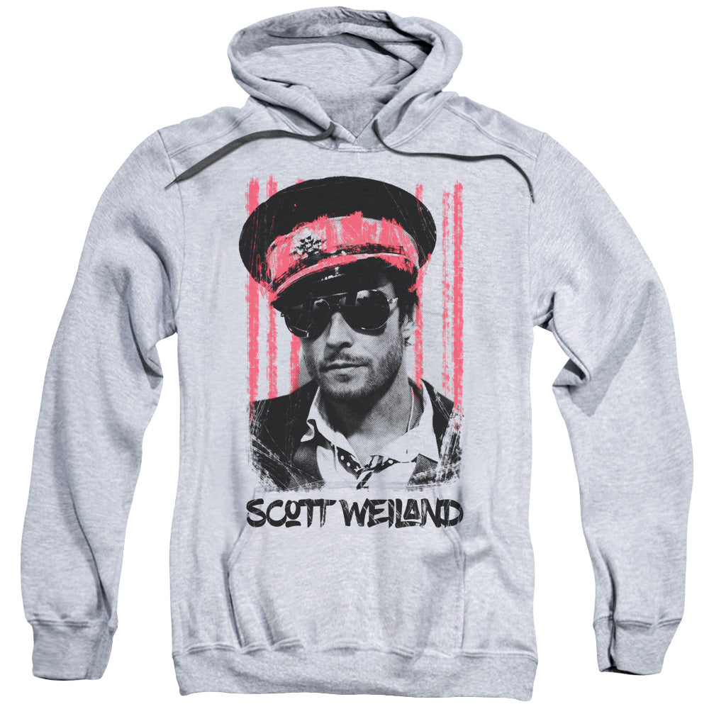 Scott Weiland - Black Hat Adult Pull Over Hoodie