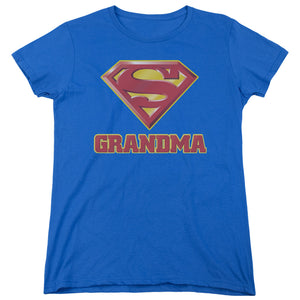 Superman - Super Grandma Short Sleeve Women's Tee