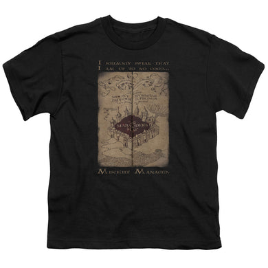 Harry Potter - Marauder's Map Words Short Sleeve Youth 18/1