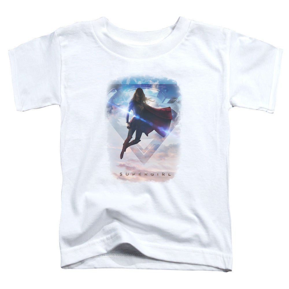 Supergirl - Endless Sky Short Sleeve Toddler Tee