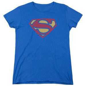 Superman - Super Rough Short Sleeve Women's Tee
