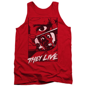 They Live - Graphic Poster Adult Tank
