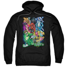 Green Lantern - Blackest Group Adult Pull Over Hoodie