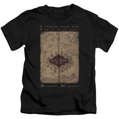 Harry Potter - Marauder's Map Words Short Sleeve Juvenile 18/1