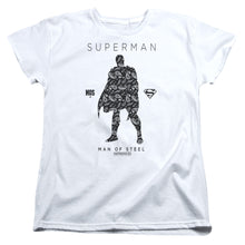 Superman - Paisley Sihouette Short Sleeve Women's Tee
