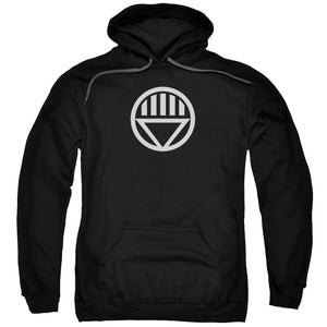 Green Lantern - Black Lantern Logo Adult Pull Over Hoodie