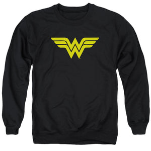 Wonder Woman Logo Adult Crewneck Sweatshirt