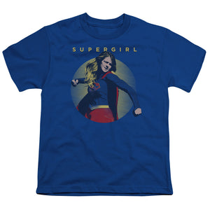 Supergirl - Classic Hero Short Sleeve Youth 18/1