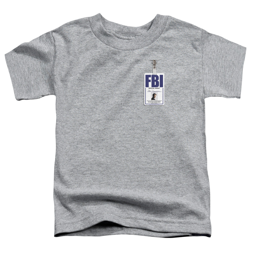 X Files - Mulder Badge Short Sleeve Toddler Tee