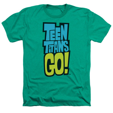 Teen Titans Go - Logo Adult Heather