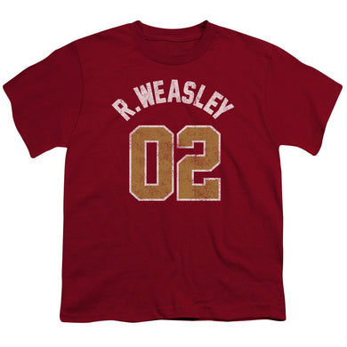 Harry Potter - Weasley Jersey Short Sleeve Youth 18/1