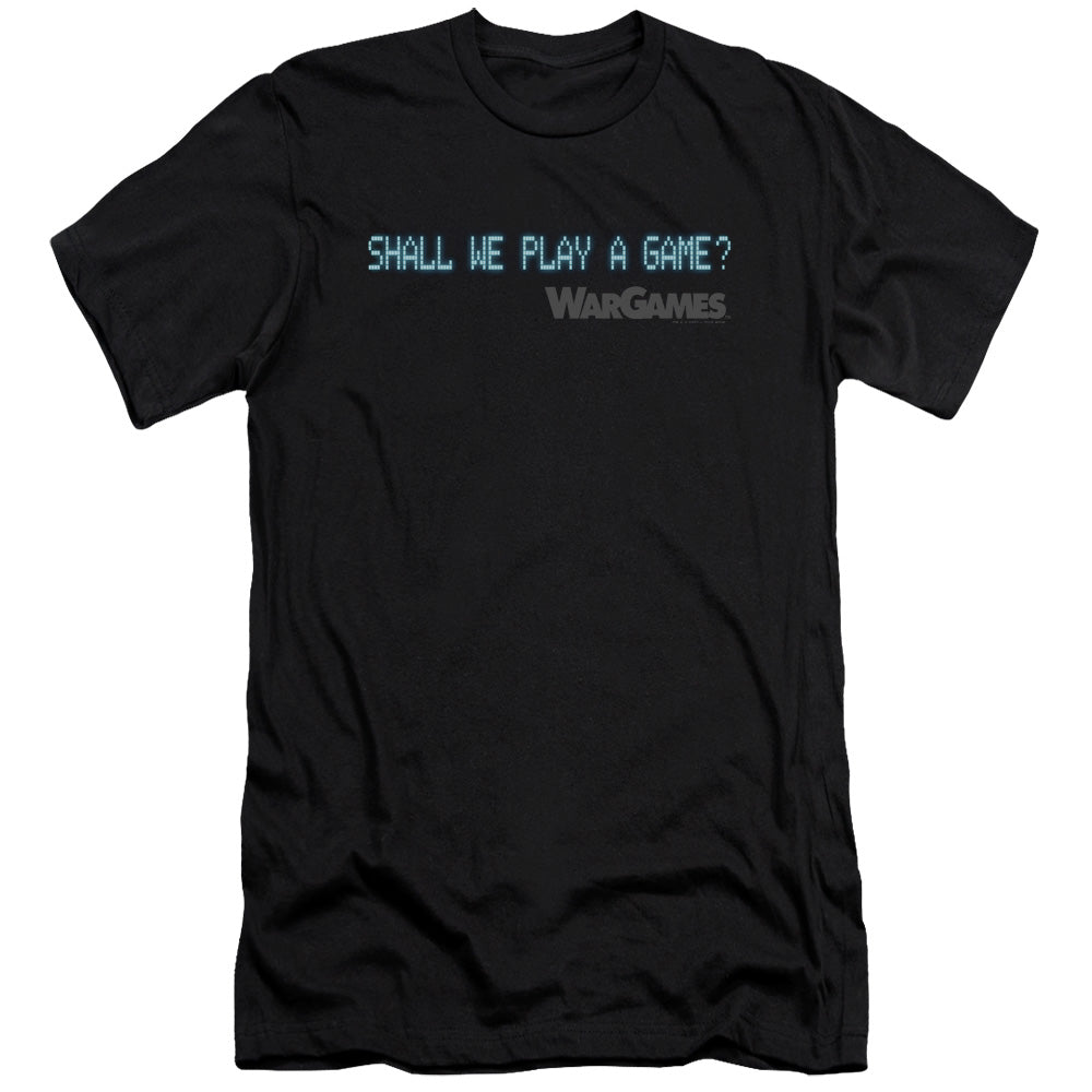 Wargames - Shall We Premium Canvas Adult Slim Fit 30/1