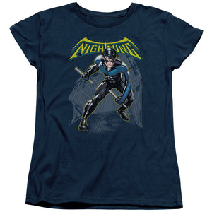 Batman - Nightwing Short Sleeve Women's Tee