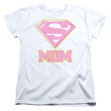 Superman - Super Mom Pink Short Sleeve Women's Tee