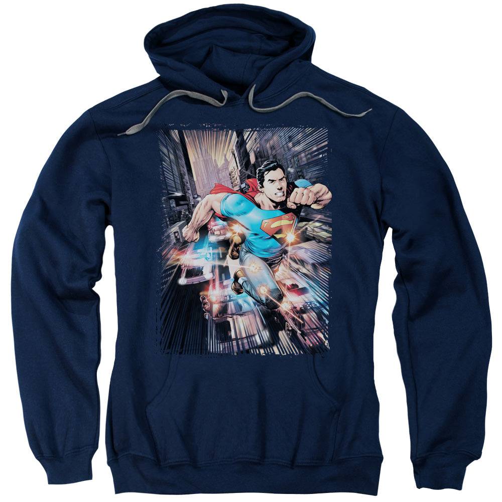 Superman - Action Comics #1 Adult Pull Over Hoodie