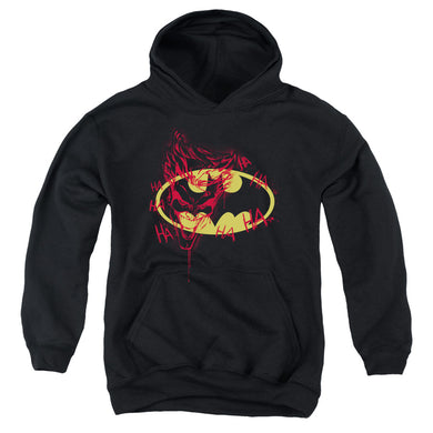 Batman - Joker Graffiti Youth Pull Over Hoodie