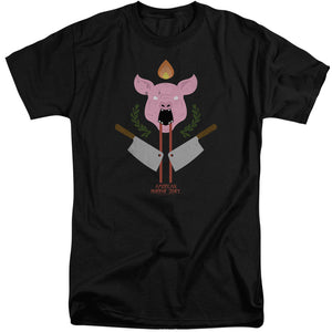 American Horror Story - Pig Cleavers Short Sleeve Adult Tall