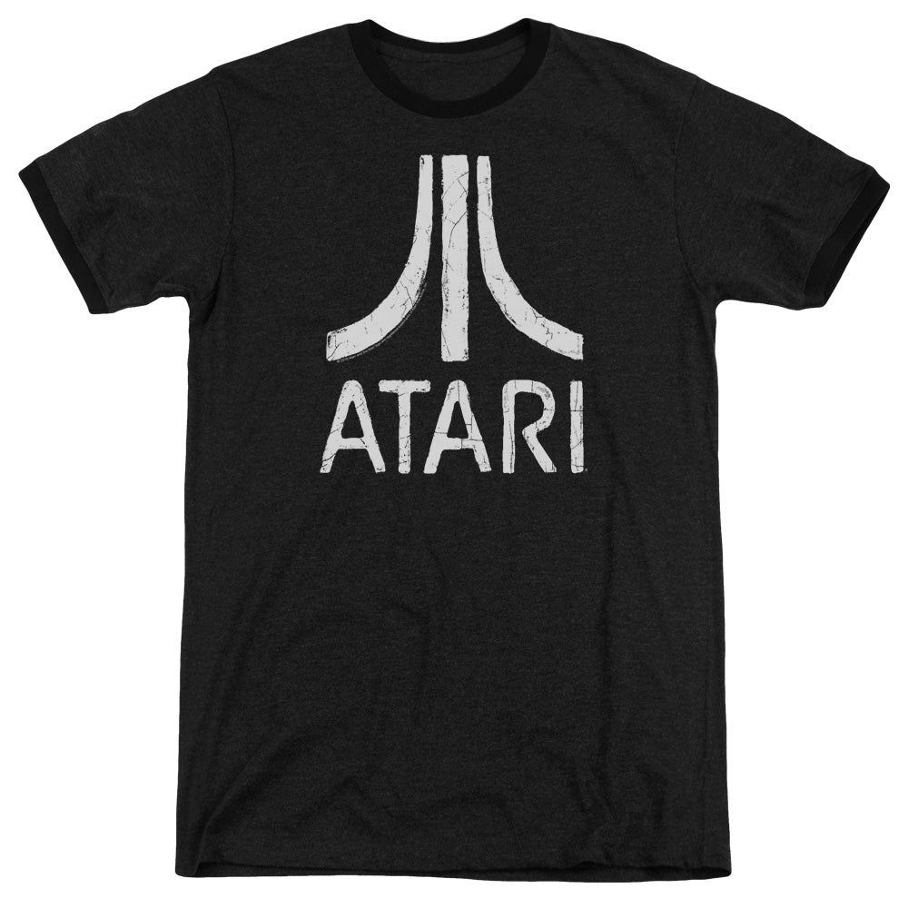 Atari - Rough Logo Adult Heather