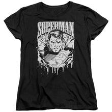 Superman - Super Metal Short Sleeve Women's Tee