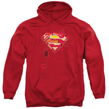 Superman - Super Mech Shield Adult Pull Over Hoodie