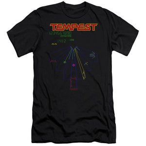 Atari - Tempest Screen Premium Canvas Adult Slim Fit 30/1