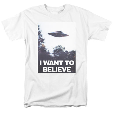 X Files - Believe Poster Short Sleeve Adult 18/1