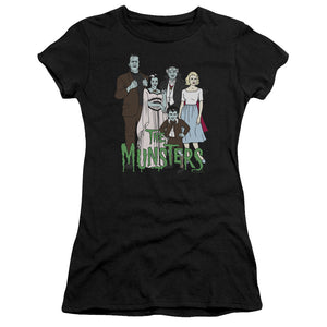 The Munsters - The Family Premium Bella Junior Sheer Jersey