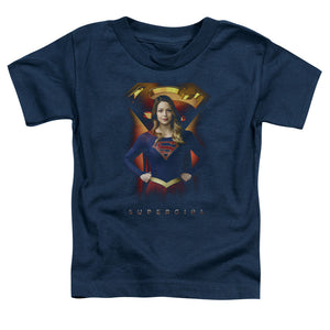 Supergirl - Standing Symbol Short Sleeve Toddler Tee
