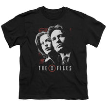 X Files - Mulder & Scully Short Sleeve Youth 18/1