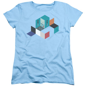 Adventure Time - Bmo Blocks Short Sleeve Women's Tee