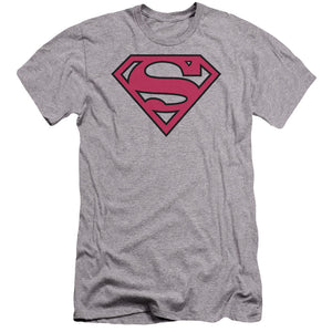 Superman - Red & Black Shield Premium Canvas Adult Slim Fit 30/1