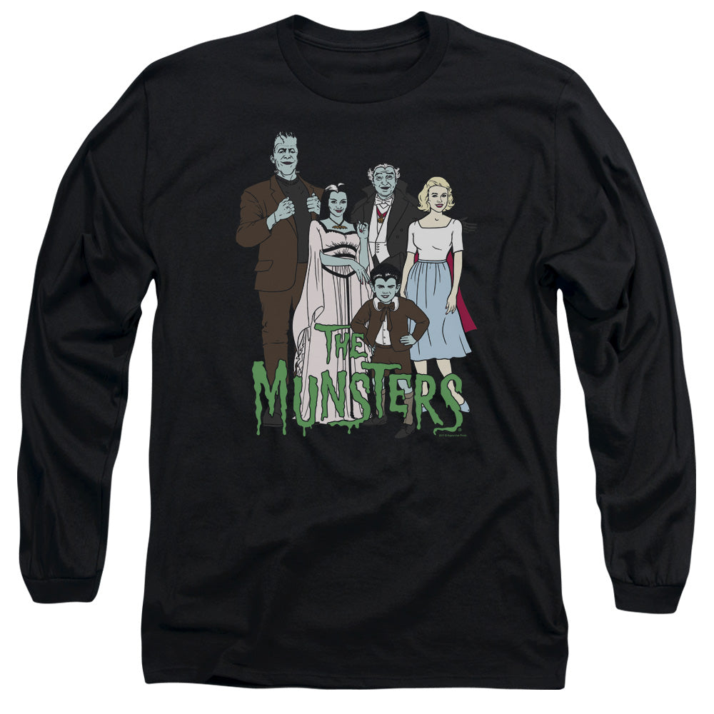 The Munsters - The Family Long Sleeve Adult 18/1