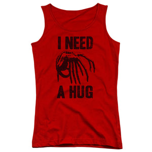 Alien - Need A Hug Juniors Tank Top