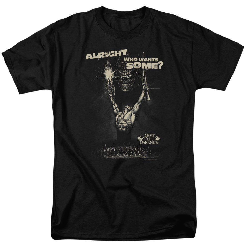 Army Of Darkness - Want Some Short Sleeve Adult 18/1