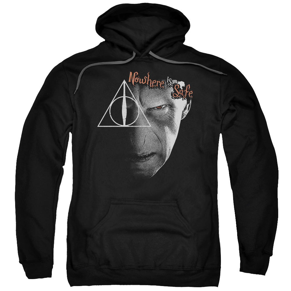 Harry Potter - Nowhere Is Safe Adult Pull Over Hoodie