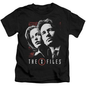 X Files - Mulder & Scully Short Sleeve Juvenile 18/1